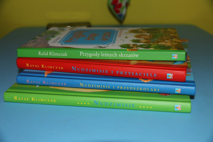 Książki dla dzieci kupione wdyskoncie Aros zapośrednictwem allegro