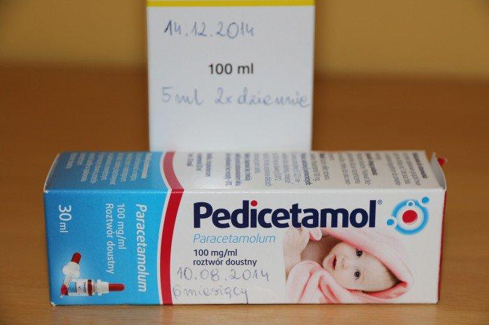 notatki naopakowaniach leków
