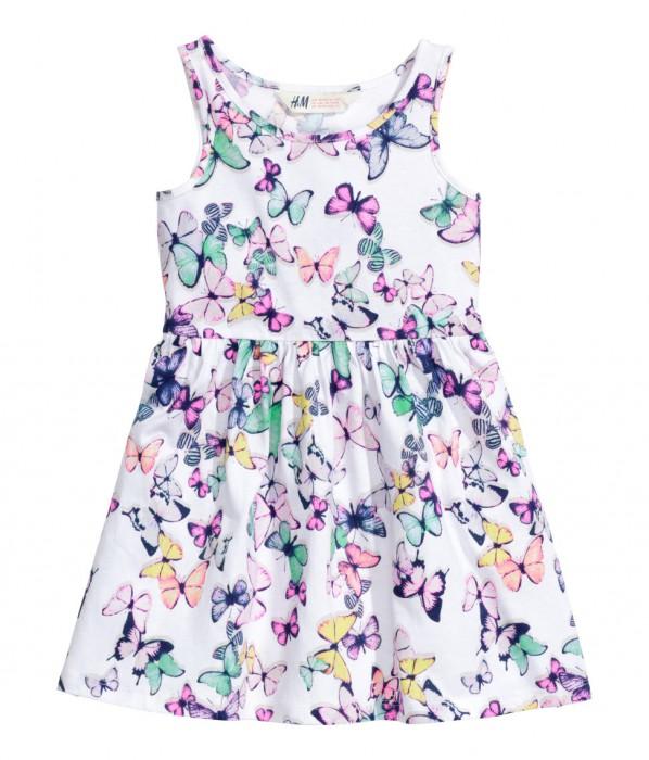 H&M sukienka wmotylki