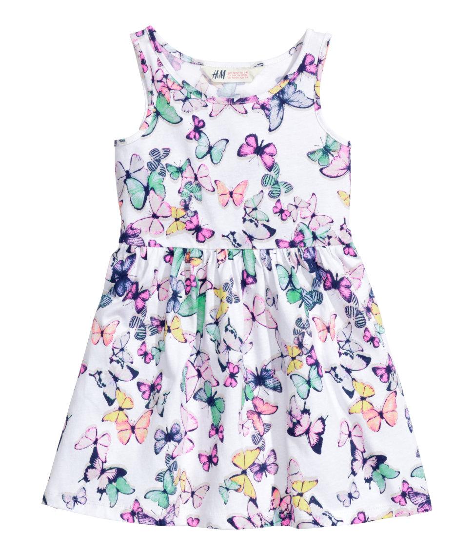 H&M sukienka w motylki bibaba.pl