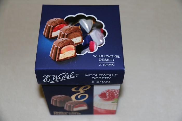 E. Wedel - wedlowskie desery 3 smaki