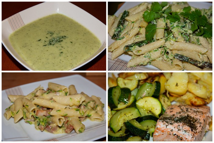 dania zcukinii: zupa krem, makarony, dodatek dodań głównych