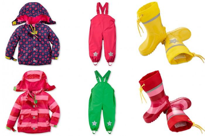 przeciwdeszczowa kolekcja dla dzieci Tchibo