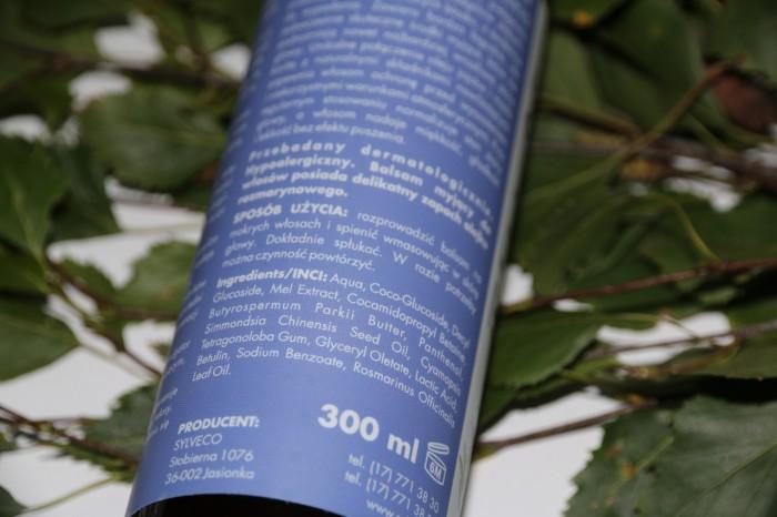 Sylveco balsam myjący dowłosów zbetuliną INCI