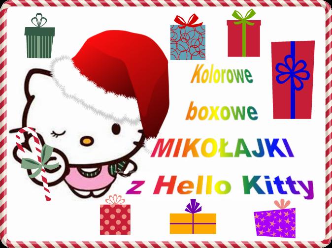 Kolorowe Boxowe Mikołajki zHello Kitty :D