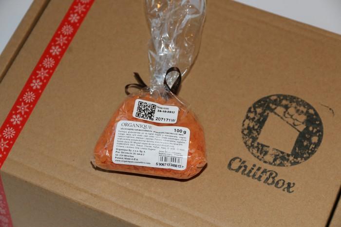 Organique - sól dokąpieli pomarańcza & chili