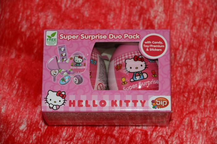 dwupak jajek zniespodziankami icukiereczkami Hello Kitty