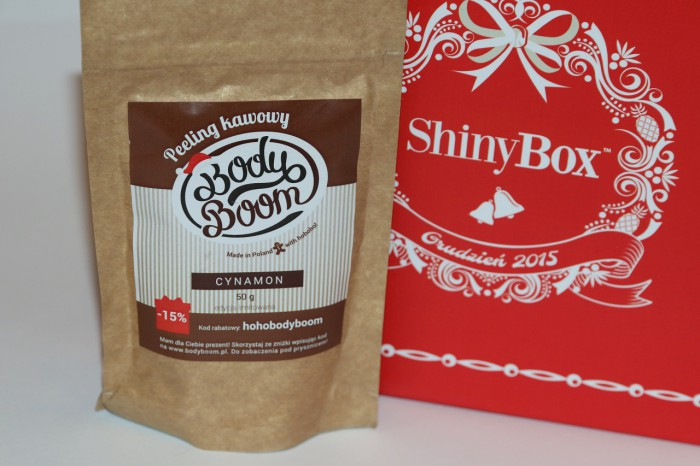 Body Boom - peeling kawowy Cynamon