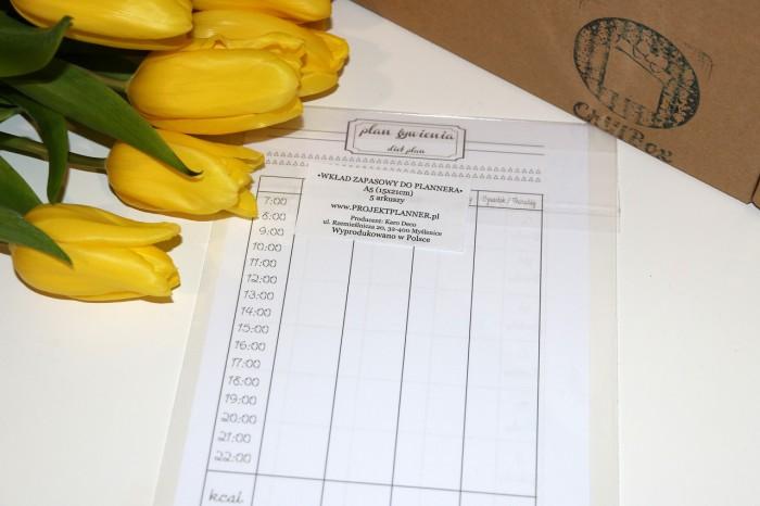 Projekt Planner - plan żywienia