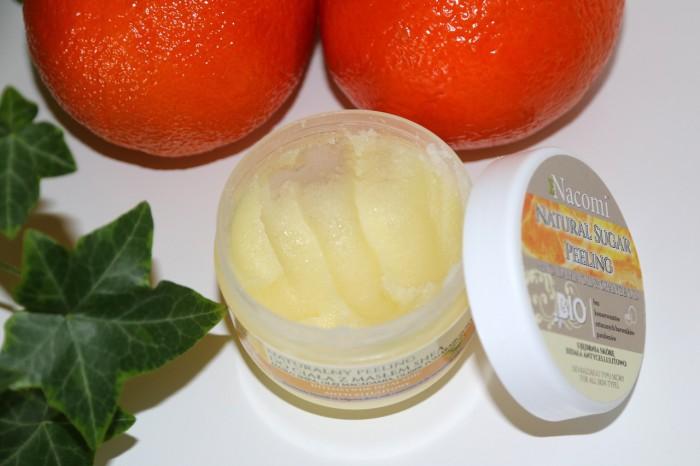 Nacomi: peeling cukrowy pomarańcza