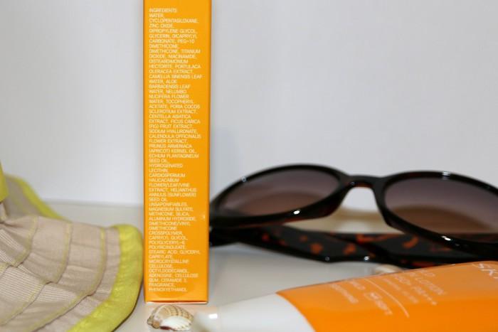 Skin79: mild sun lotion SPF50+, skład