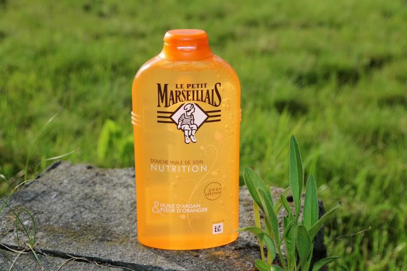 Le Petit Marseillais: pielęgnujący olejek do mycia - olejek arganowy i kwiat pomarańczy