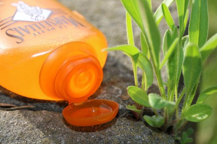 Le Petit Marseillais: pielęgnujący olejek domycia - olejek arganowy ikwiat pomarańczy