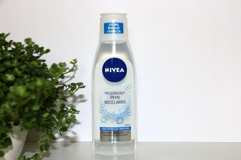 Nivea: pielęgnujący płyn micelarny dla cery normalnej i mieszanej