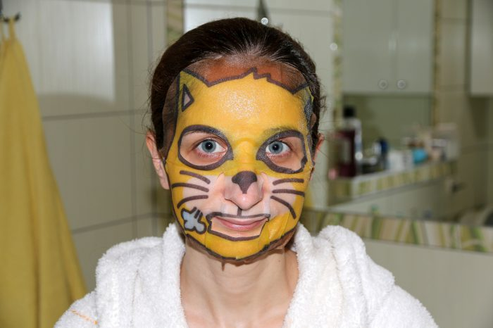 maska wpłacie Skin79 Angry Cat