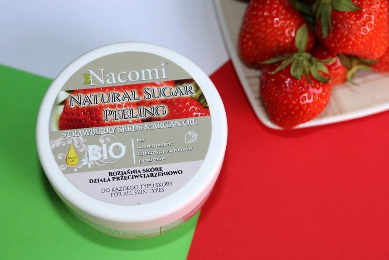 Nacomi: peeling cukrowy truskawka