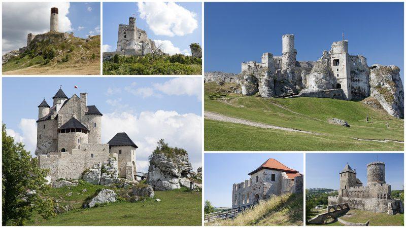 Szlak Orlich Gniazd - zamki