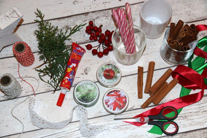 DIY świąteczne świeczniki