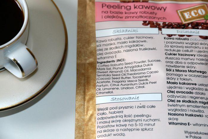 peeling kawowy Nacomi skład