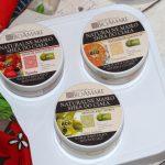 Masło dociała Bioamare – poziomka, pomarańcza izielona herbata