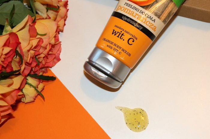 Bielenda Vegan Friendly - peeling dociała Pomarańcza