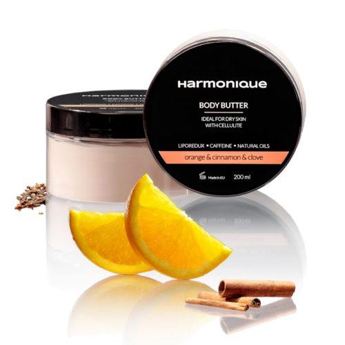 Harmonique - masło dociała Pomarańcza, Cynamon iGoździk