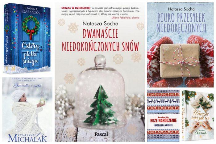 Świąteczne prezenty DLA NIEJ last minute - książki