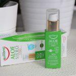 Aloesowe serum dotwarzy Equilibra zkwasem hialuronowym