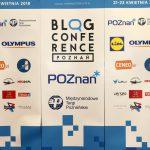 Blog Conference Poznań 2018 - poco mi tobyło