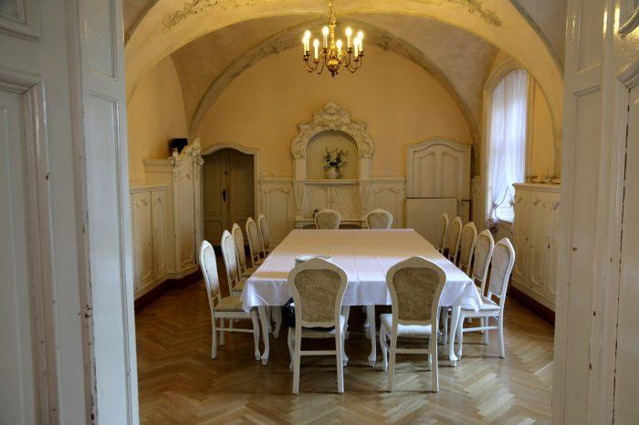 Zamek Moszna Biała Sala