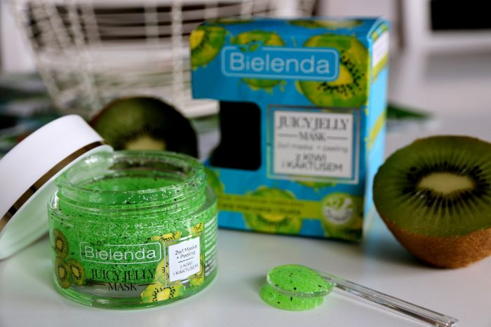Bielenda Juicy Jelly Mask kiwi i kaktus