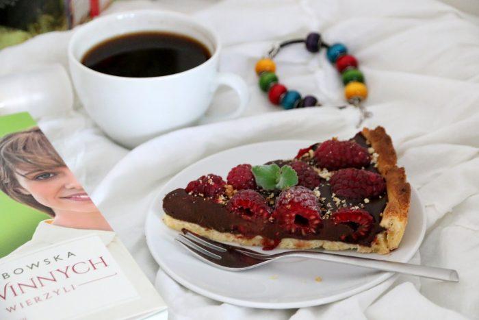 kawa itarta zgorzką czekoladą imalinami