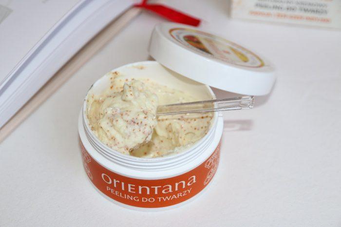 Peeling dotwarzy Orientana papaja iżeń-szeń indyjski