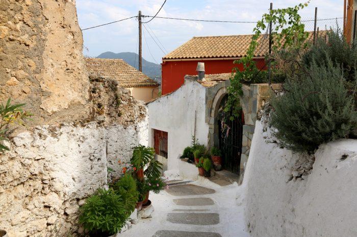 Pelekas village