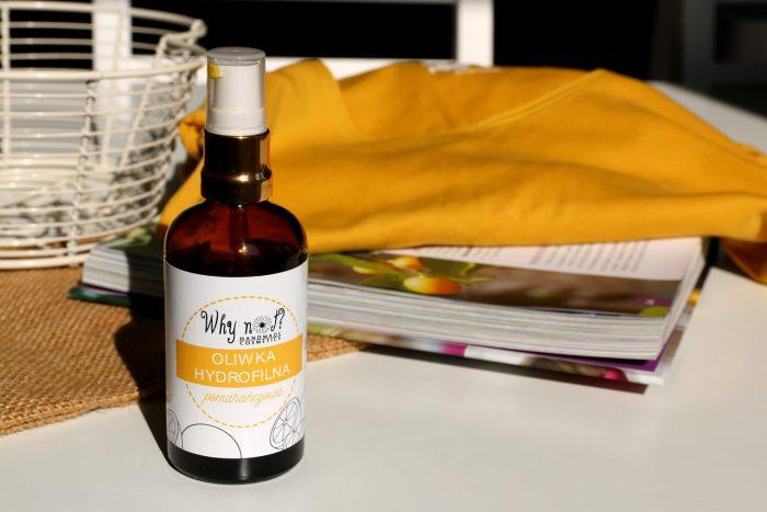 Why not? oliwka hydrofilna pomarańczowa