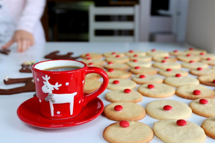 świąteczne ciastka Rudolfy
