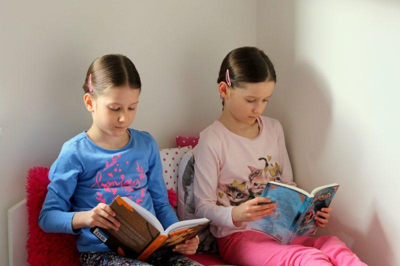 Książki dla dzieci w wieku 7-9. Co czytają moje córki