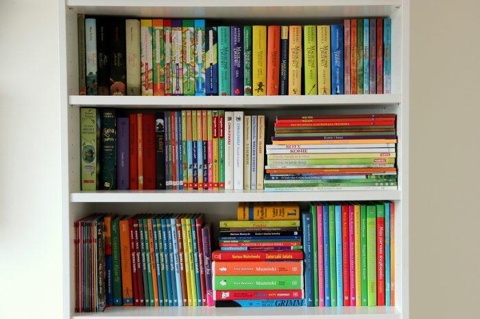 książki dla dzieci - biblioteczka
