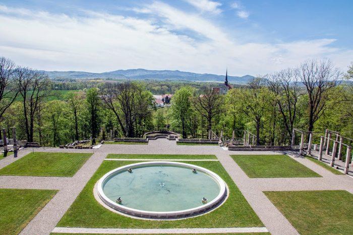 Pałac Marianny - fontanna