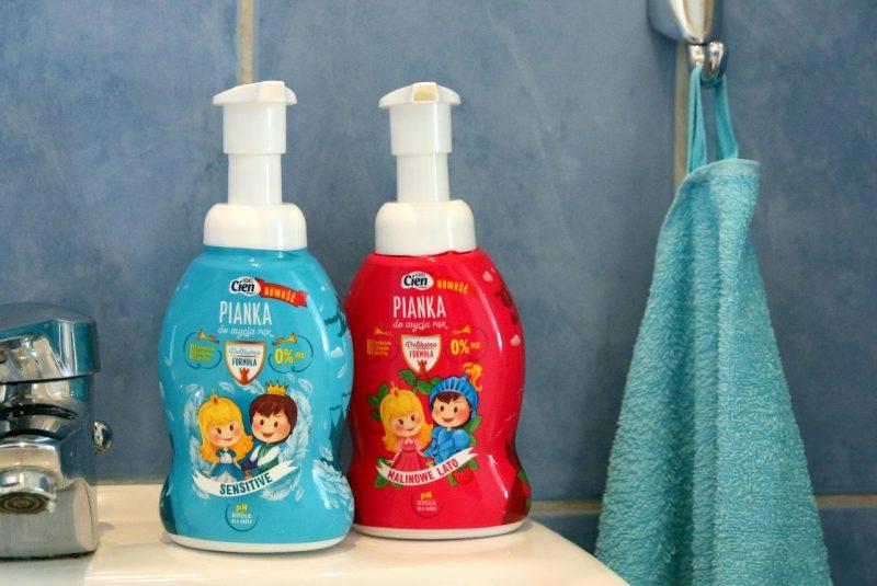 Pianki do mycia rąk Cien Kids