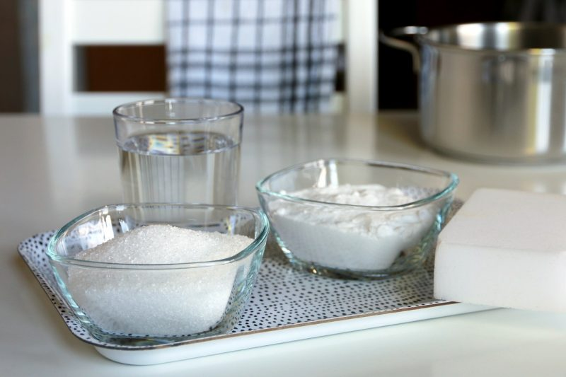 Domowe środki czystości czystości. Ekologiczny dom