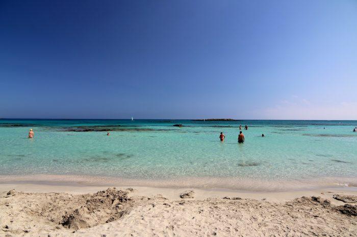Kreta, Zatoka Elafonisi
