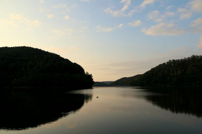 Jezioro Bystrzyckie, woddali zapora