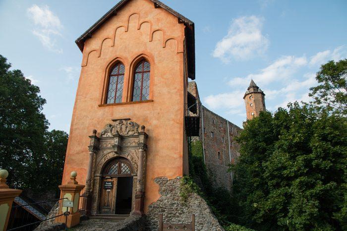 Zamek Grodno, portal renesansowy
