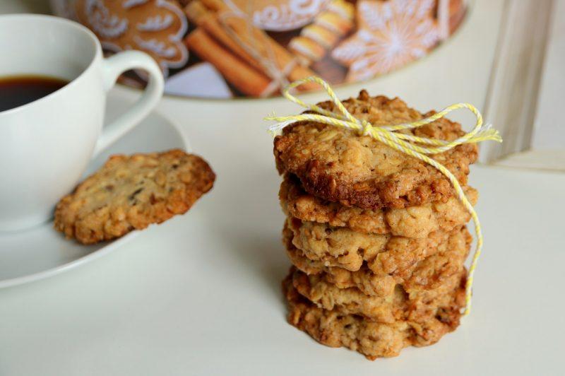 Przepis na kruche ciastka owsiane