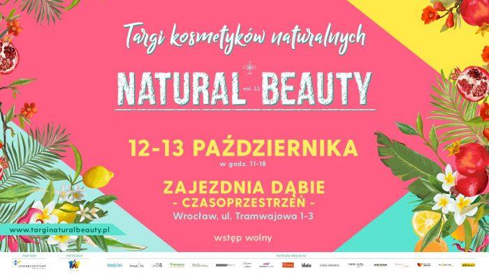 targi Natural Beauty – Wrocław 12-13 października 2019