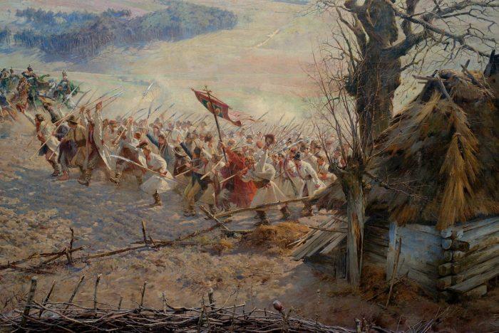 Panorama Racławicka, fragment