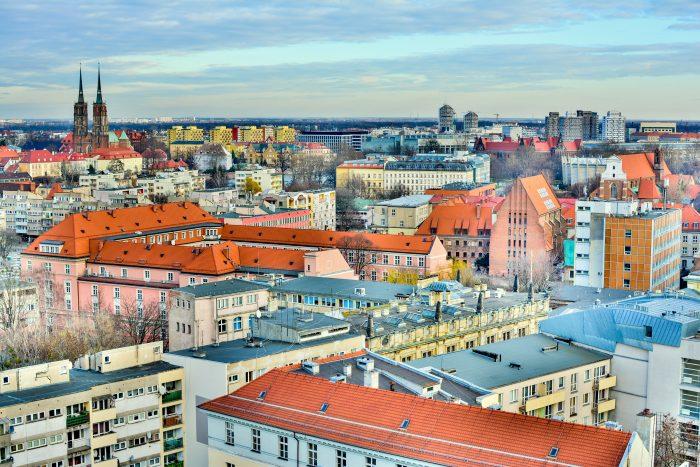 Wrocław zlotu ptaka