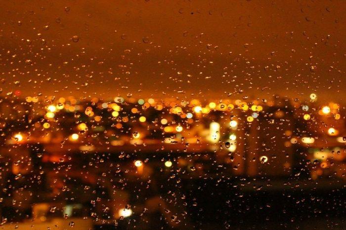 Deszczowy wieczór