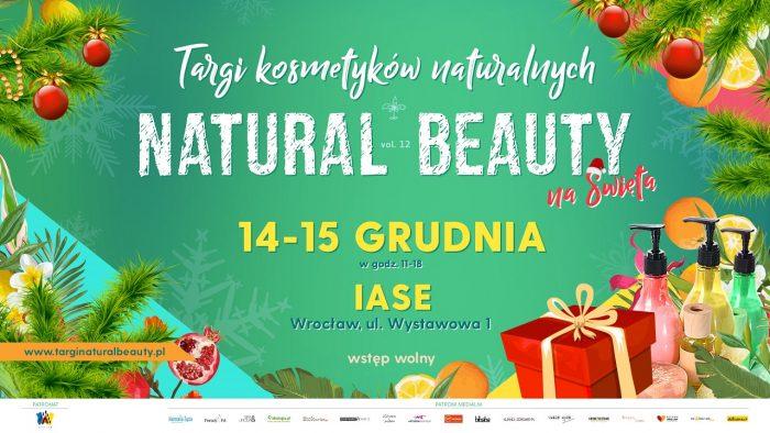 Targi Natural Beauty – Wrocław 14-15 grudnia 2019